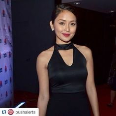#Repost @pushalerts with @repostapp ・・・ Sexy and sophisticated ang peg ni Kathryn Bernardo sa #PUSHAwards! We can tell na in full force ang #Kathniel love tonight. )