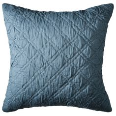 Playing off of the Tiffany blue color Threshold Pick Stitch Decorative Pillow - Teal