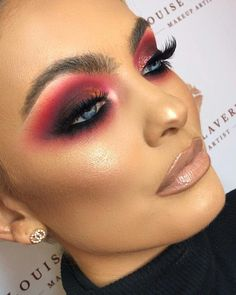 Gorgeous Makeup: Tips and Tricks With Eye Makeup and Eyeshadow – Makeup Design Ideas Kiss Makeup, Glam Makeup, Makeup Geek, Makeup Inspo, Eyeshadow Makeup, Makeup Addict, Makeup Cosmetics, Makeup Tips, Makeup Products