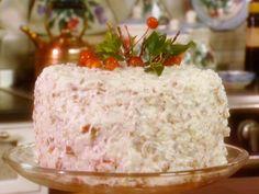 Grandmother Paula's Red Velvet Cake recipe from Paula Deen via Food Network