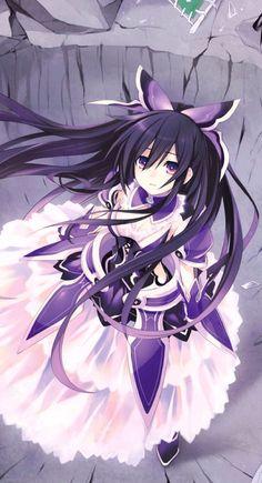 Tohka date a live Date A Live, Comic Manga, Manga Anime, Kawaii Girl, Kawaii Anime, Sword Art Online, Lolis Neko, Anime Date, Fanart