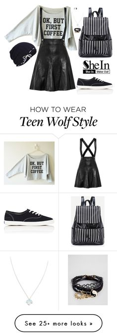 """""""Untitled 736"""" by leo-s-fire on Polyvore featuring Keds, Sandro, Sydney Evan, ASOS and Wolf & Moon"""