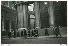 Robert Frank -London, Bankers, (Vintage), 1951.