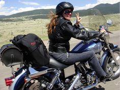 We review a dozen interesting blogs geared for women motorcycle riders.