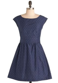Constellation Prize Dress. Youve worked so hard to achieve what you have in life.  #modcloth