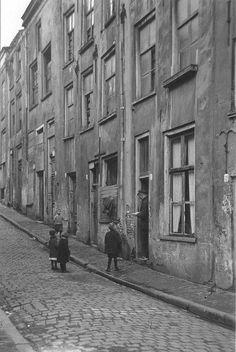 Vanaf de De Lindenberg, in de richting van de Grotestraat in 1938.