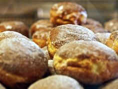 Paczki Day in #Detroit. Celebrate Fat Tuesday in Style A Polish Catholic tradition is to make and eat Paczki (the best jelly donuts on the planet) on Fat Tuesday. New Orleans has their beads, topless babes and rowdiness. Detroit has Paczki Heaven. ;-)
