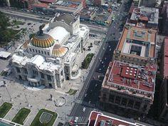 """""""Palacio de Bellas Artes desde el mirador de la Torre Latinoamericana"""", foto 15"""