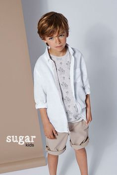 "Martí from Sugar Kids for Massimo Dutti Boys&Girls ""Pure Linen"""