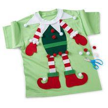 Tulip Kids T-Shirt Form - Christmas T Shirt - Ideas of Christmas T Shirt - Ugly Christmas T-Shirt Kids Christmas Sweaters, Diy Ugly Christmas Sweater, Christmas Outfits, Christmas Music, Christmas Items, Christmas 2017, Christmas Movies, Christmas Crafts, Christmas Tree
