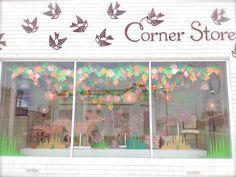 Corner Store window via Luxe Addition blog