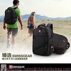 New Swiss multifunctional men lug gage travel bags Wenger computer backpack09 from China