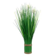 $.99 At Home Picture of 18IN HYRDA GRASS STACK WHT