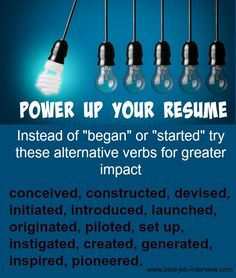 Resume Action Words Power up your resume with effective resume action words.Power up your resume with effective resume action words. Interview Answers, Job Interview Questions, Job Interview Tips, Job Interviews, Resume Skills, Job Resume, Resume Tips, Resume Help, Free Resume