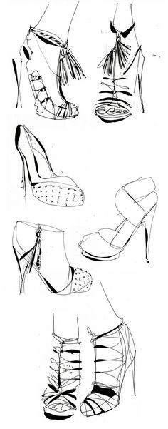 shoe sketches