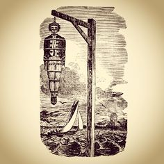 """""""Yes, I do heartily repent. I repent I had not done more mischief; and that we did not cut the throats of them that took us, and I am extremely sorry that you aren't hanged as well as we."""" -Anonymous Pirate, asked on the gallows if he repented. I pirate 'til the end.  - #pirate #pirateslifeforme #gallows #hanged #ship #pirateship - If you #like, be sure to #follow: @captainsdeckapparel (at The Captain's Deck)"""