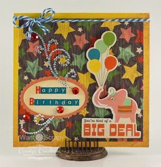 Big Deal Birthday Card by Candy S. - Cards and Paper Crafts at Splitcoaststampers