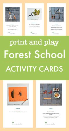 forest school activities printables, ideas for outdoor classroom, outdoor math activities, outdoor literacy activities, Forest School Activities, Outside Activities, Classroom Activities, Learning Activities, Activities For Kids, Montessori Activities, Outdoor Education, Outdoor Learning, Outdoor Play