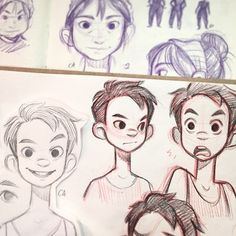 so much I want to study/draw but never enough timeee #sketch #doodles #characterdesign