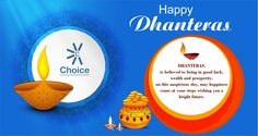 #ChoiceBroking Choice Family wishes you a Happy #Dhanteras #HappyDiwali
