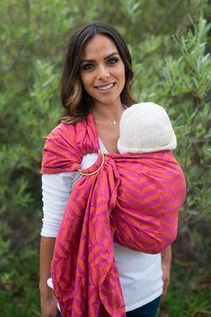 TULA Baby Carriers | Toddler Carriers — Migaloo Wrap Conversion Ring Sling - Sorbet