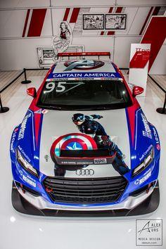 Top View Audi Cpt America