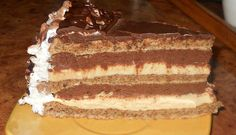 Tort de nuci si ciocolata Romanian Desserts, Romanian Food, Romanian Recipes, Chocolate Heaven, Something Sweet, Tiramisu, Sweet Treats, Sweets, Ethnic Recipes