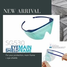 Let's prepare for Post-pandemic! This Safety eye shield protects your eye from flying debris, droplets, aerosols, sprays, and splatters. Disinfectant Spray, Infection Control, Personal Hygiene, Food Industry, Body Care, Safety, How To Remove, Medical, Let It Be