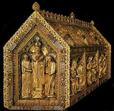 Chasse of Saint Servais -- Circa 1160 -- Maastricht, Netherlands -- No further reference provided.