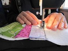 Interesting way of quilting