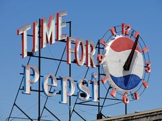 My hometown has one of these~ Quincy, IL~Pepsi