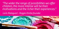 Image result for reggio emilia quotes