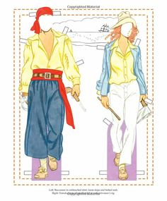 The History of Denim Paper Dolls: Tom Tierney: 9781935223719: Amazon.com: Books