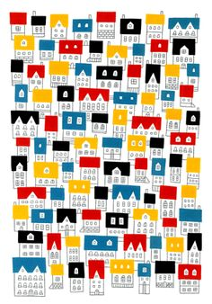 little boxes on the hillside #patterns