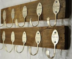 This is just super genius! Coat hanger - Recycling project