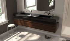 Luxury is in each detail.  Grab yours now at ▶ www.riluxa.com/  ▃▃▃▃▃▃▃▃▃▃▃▃⠀  #Corian #Riluxa #bathroom #design #royalty #bathroomideas #bathroomdesign #bathroomdecor #bathroomgoals #bathroomremodel