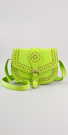 LOVE ALL THINGS NEON!! cleobella cantina bag... bright colors are prefect for summer!