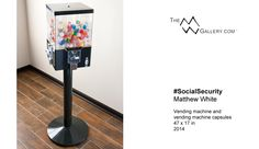 #SocialSecurity . . . #ContemporaryArt by artist Matthew White. TheMWGallery.com.