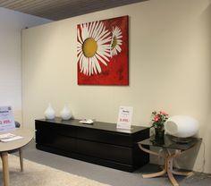 Tusindfryd str. 100 x 100 cm. Flower painting