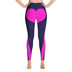 Items similar to Pink Purple Blue Heart Shape Booty Yoga Leggings Heart Day Capri Yoga Pants, Sport Stretch Leggings, Fitness Workout Yoga Pants Joggers on Etsy Yoga Capris, Yoga Leggings, Yoga Pants, Purple Leggings, Capri Leggings, Spandex Material, Leggings Fashion, Pink Purple, Heart Shapes