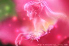 "2001 ""Tulip"" photo + paint by Naoko Aoyama"
