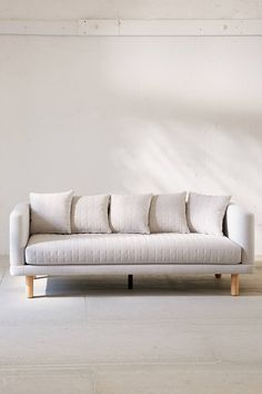 Slide View: 2: Yvette Quilted Sofa