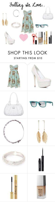 """""""Falling In Love.."""" by emiily-debnamxo ❤ liked on Polyvore featuring Miss KG, Fiorelli, Ray-Ban, Jack Wills, Candie's, Stila, Yves Saint Laurent and Bare Escentuals"""