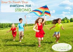 How To Finish Your Homeschool Year Strong If you are a #homeschool mom, chances are this time of year you are getting the itch to finish things for this school year. It's sunny outside which means the kiddos are not as focused as they were a month ago and let's be honest, we homeschooling mamas are ready for a break too. Summer is so close we can smell it and after a long winter who doesn't want to get some sunshine therapy! However, you probably have a bit more schooling that needs to be completed before you can officially wrap things up which can be grueling to do at times.  Never fear fellow homeschoolers, I have learned a few tips over my last 5 years of homeschooling on how to finish your homeschool year strong and to keep you from pooping out.