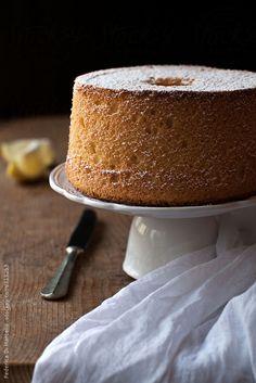 Lemon chiffon cake by Federica Di Marcello