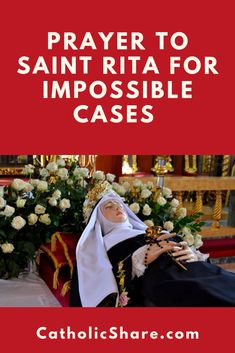 Prayer to Saint Rita for Impossible Cases – Very Powerful St. Rita of Cascia is such a powerful intercessor! Catholic Prayer For Protection, Catholic Prayer For Healing, Catholic Prayers, Catholic Saints, Catholic Beliefs, Prayer Scriptures, Faith Prayer, Healing Scriptures, Inspiring Words