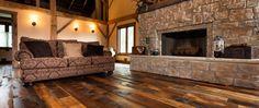 Reclaimed Historic Plank Flooring | Converted Barn Floor | Ohio