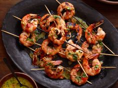 Grilled Shrimp With Orange-Habanero Mojo