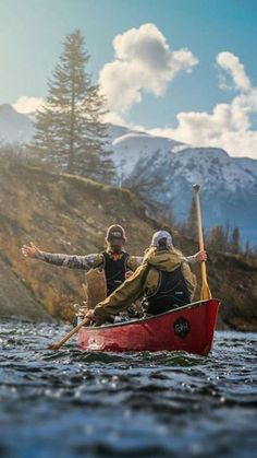 Kayak Camping The Great Outdoors Canoe Boat, Canoe Trip, Canoe And Kayak, Fishing Canoe, Fishing Tips, Bass Fishing, Fishing Boats, Trekking, Camping Sauvage