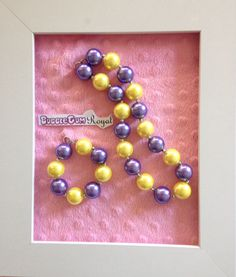 Our classic bubblegum bead necklace in purple and yellow is just $15 including shipping (untracked) anywhere in Australia. Add a matching bracelet for $5 with any necklace purchase. More designs available at www.bubblegumroyal.com